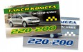 Business Card –Comet Taxi